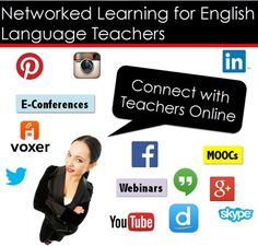 Networked #Learning for English Language Teachers, #Teaching with Technology Webinar