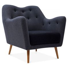 Cult Living Ruby Armchair - Dark Grey