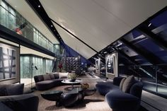 Modern Penthouse Interior at Neo Bankside in London