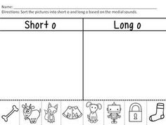 $ A Variety of Vowels- Short and Long Vowels!!