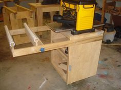Thickness Planer Cabinet/Stand - by vrice @ LumberJocks.com ~ woodworking community