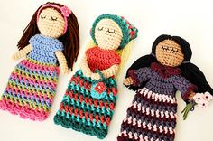 Crochet Pattern  Customizable Doll With Lots of por petalstopicots, $5.50