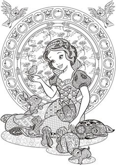 Disney Coloring Pages Adults. 19 Disney Coloring Pages Adults. Coloring Pages for Adults Disney at Getdrawings Snow White Coloring Pages, Animal Coloring Pages, Coloring Book Pages, Coloring Pages For Kids, Kids Coloring, Frozen Coloring, Detailed Coloring Pages, Coloring Sheets, Disney Princess Coloring Pages