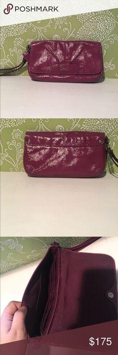 coach clutch purple coach clutch Coach Bags Clutches & Wristlets
