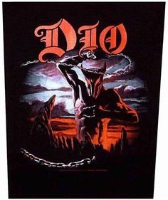 WOVEN SEW ON PATCH DIO last in line 2012 free shipping