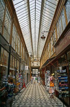 Passage Jouffroy, Paris, Ile-de-France.