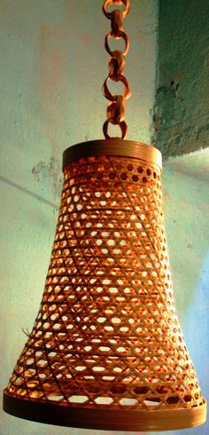 Bamboo Hanging Lamp from Lal10.com