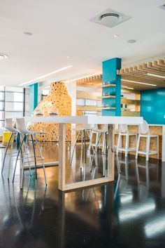 Inhouse Brand Architects has designed the new offices of marketing agency John Brown Media located in Cape town, South Africa. Led by Inhouse Brand Office Interiors, Cape Town, Flooring, Brown, Offices, Modern, Design, Workplace, Furniture
