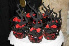 Burlesque leg cupcakes from burlesque themed birthday party                                                                                                                                                     More