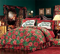 124 Best Christmas Bedding Bath Images Christmas Ornaments Diy