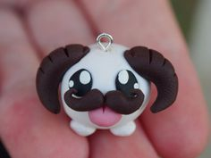Mustache Poro charm - League of Legends