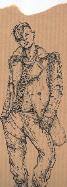 fashion illustration fineliner - Google Search