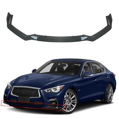 Cuztom Tuning for 2014-2018 Infiniti Q50 Q50S Real Carbon Fiber Side Mirror Cap Covers-Replacement Type