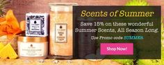 Take it off for the summer! Save 15% all summer long on 15 of our most summery products!! Use code SUMMER at checkout. www.jewelscent.com/KarinGriffis/summer-scents
