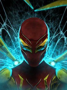 Spider-Man Marvel Fanart, Marvel Comics, Marvel Comic Books, Marvel Heroes, Comic Books Art, Marvel Avengers, Spiderman Art, Amazing Spiderman, Iron Spider