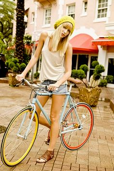 Colourful Cycling