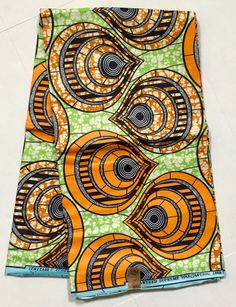 Your place to buy and sell all things handmade Ankara Fabric, African Fabric, African Prints, Textile Patterns, Textile Design, Textiles, Africa Art, Masks Art, African Masks