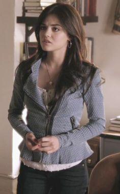 Lucy hale as Aria in Pretty Little Liars #Fashion