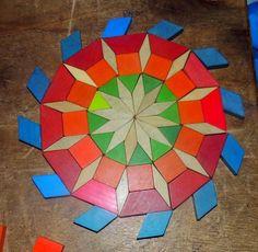 Pattern Block Templates, Pattern Blocks, Math Patterns, Quilt Patterns, Origami Quilt, Radial Pattern, English Paper Piecing, Puzzles For Kids, Art Classroom