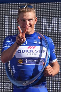 4th Tour Dubai 2017 / Stage 5 Podium / Marcel KITTEL Blue Leader Jersey/ Celebration / Trophy/ DubaiDIMC DubaiCity Walk / Meraas Stage / Dubai Tour /