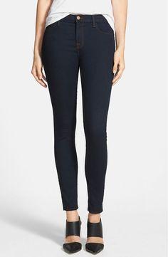 J BRAND Maria High Rise Slim 811 Ankle Skinny Jeans Pants Dark Blue Ink 29 $170 #JBrand #SlimSkinny