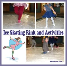 Make a corner of your room into an ice rink and let children practice skating movements. Read the awesome teacher tips for ideas that will keep everyone busy while they wait for their turns.