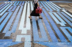 Crosswalk art - photo from Fine Art America, via Google Search     ...link doesn't work...