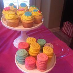 birthday parties, lalaloopsy cupcakes, lalaloopsi cupcak, lalaloopsi parti, button cooki, parti plan, parti idea