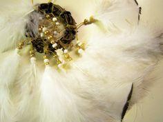 Horse Dancer's Handmade Pearl of An Owl Dream Catcher