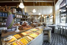 Lafayette Grand Café & Bakery – 380 Lafayette Street, New York, NY 10003. A visit is worthwhile because former Aureole pastry chef Jen Yee works there now!