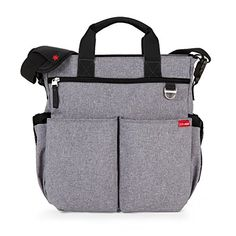 New Skip Hop Duo Signature Baby Diaper Bag w/ Changing Pad Heather Gray Brand New, auth. Dealer, Warranty The updated Duo Signature boasts a bevy of new feature Heather Gray, Boy Diaper Bags, Best Diaper Bag, Nappy Bags, Franck Fischer, Stroller Bag, Future Maman, Changing Bag, Baby Gear