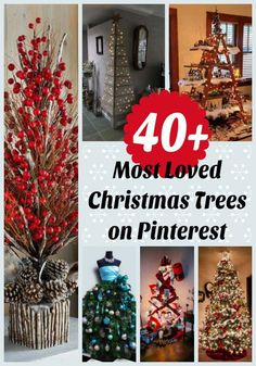 40 Most Loved Christmas Tree Decorating Ideas on PinterestNothing can spread the love and joy and magic of the Holiday seasons quite like a Christmas tree does. Needless to say, it is the crowning glory of our home's decorations. It is a silent rule for it to be