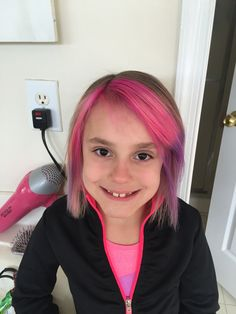 Pink purple ombre for kids