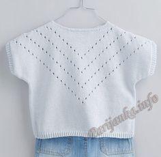 Пуловер (д) 14*141 Phildar №5004