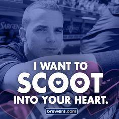 #Brewers #Valentine #ValentinesDay #ScooterGennett