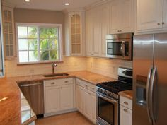 Wonderful Small U Shaped Kitchen #1 - Small U-shaped Kitchen Design Ideas