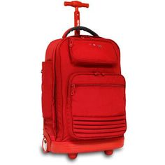"""J World Parkway 20-1/2"""" Rolling Laptop Backpack 45 cu in $55"""