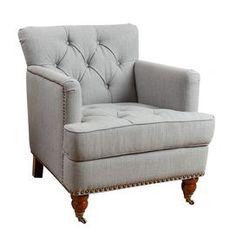 Misha Tufted Arm Chair
