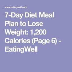 Dynamic 1 week Eating Plan | Diet Plans And Weekly ...