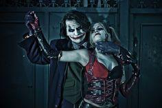 The Joker and Harley Quinn by LeanAndJess on DeviantArt