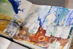 DreamJournal Bottles. Melanie Testa