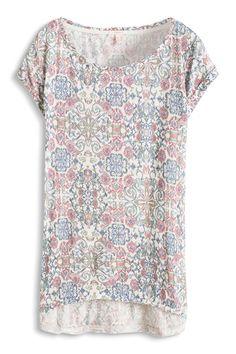 2257ada2352e Esprit   Luftiges Print-Shirt aus Leinen-Mix Maternity Fashion, T Shirts For