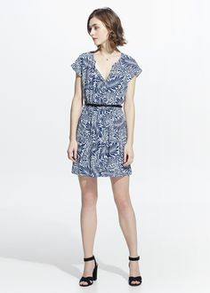 Printed dress - Dresses for Women | MANGO