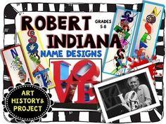 Robert Indiana Art Lesson