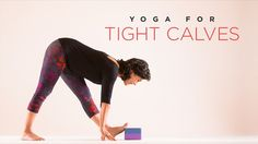 How to adapt common poses for tight calves to get the stretch you need. Calf Stretches, Best Stretches, Stretching, Yoga International, Yoga For All, Bedtime Yoga, Physical Therapy, Get In Shape, Get Healthy