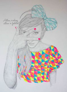 Fashion Illustration by Niki Pilkington at LuLus.com!