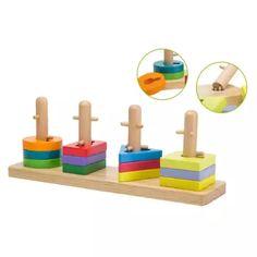 Jouéco dřevěná skládačka Puzzle 12m+ 319,-