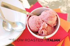 The Slow Roasted Italian - Printable Recipes: Simple Strawberry Banana Ice Cream in 5 Minutes