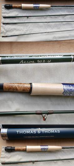 1e562dadb38a5 Fly Fishing Rods 23819  Thomas And Thomas Aeros 903-4 3Wt Fly Rod -