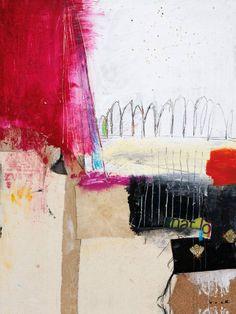 "Saatchi Art Artist Michel Keck; Collage, ""What Now? (SOLD)"" #art"